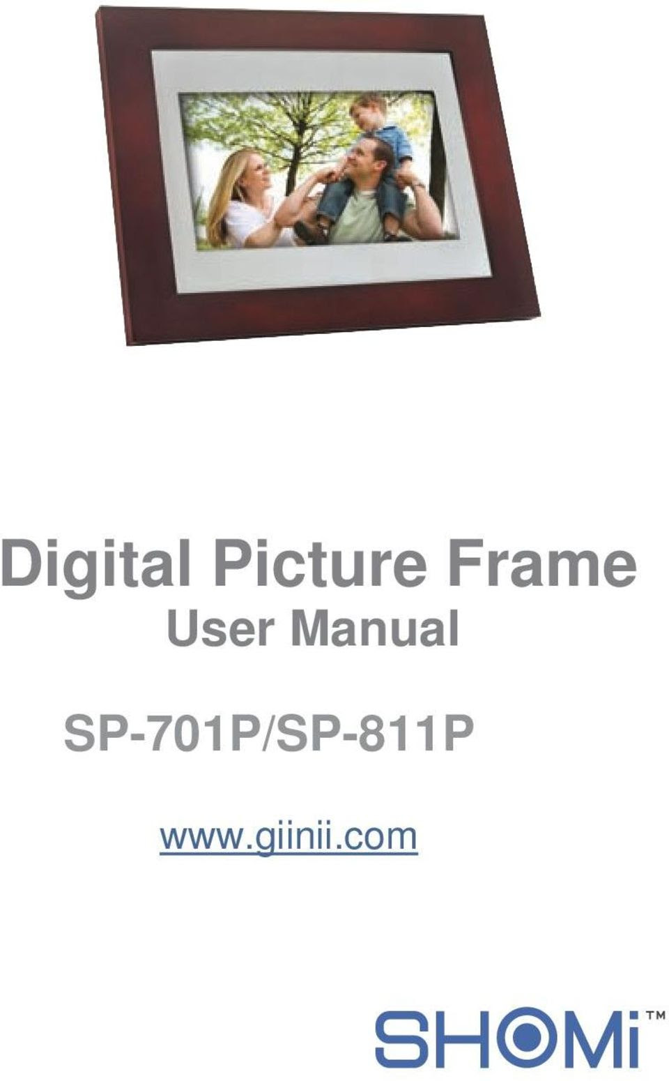 Digital Picture Frame User Manual Sp 701psp 811p Pdf