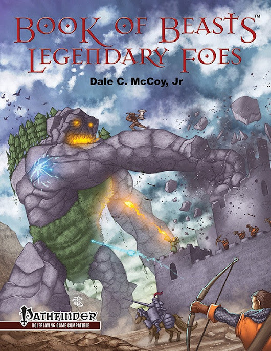 Book of Beasts: Legendary Foes (PFRPG)