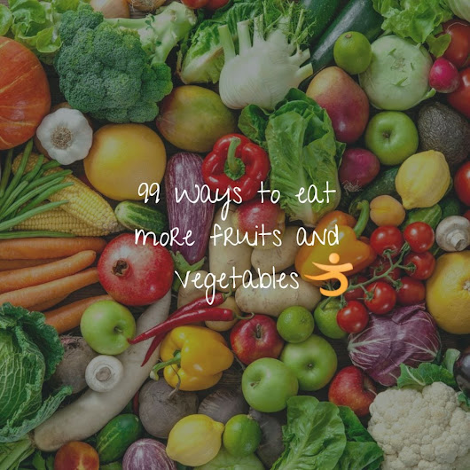 99 ways to get 9 daily servings of alkalizing vegetables, fruits and spices