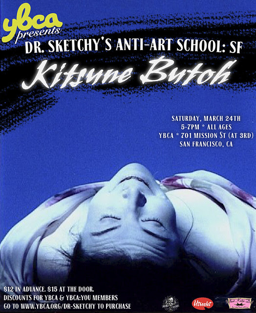 YBCA presents Dr Sketchy's Anti-Art School: San Francisco