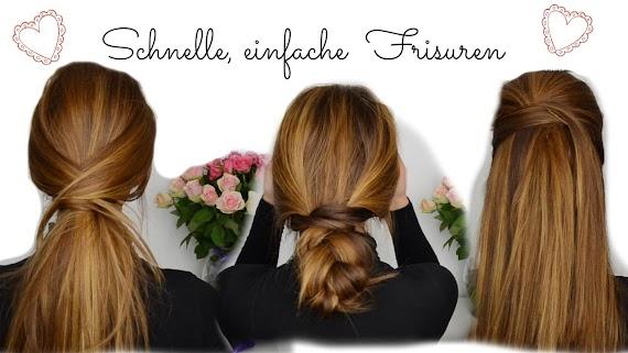 Schnelle Frisuren Für Lange Dicke Haare