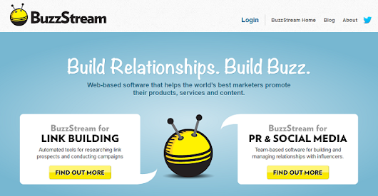 BuzzStream - A Tool for Building Powerful Relationships Online