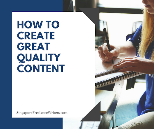 How to create great quality content to rank higher in the search engines