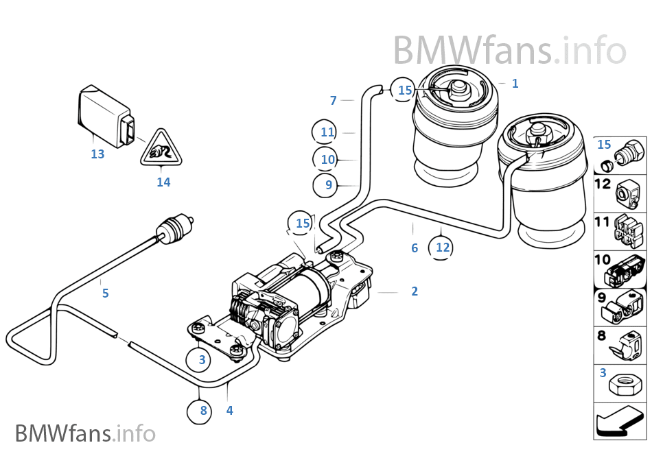Bmw X5 E53 Air Suspension Fuse Location