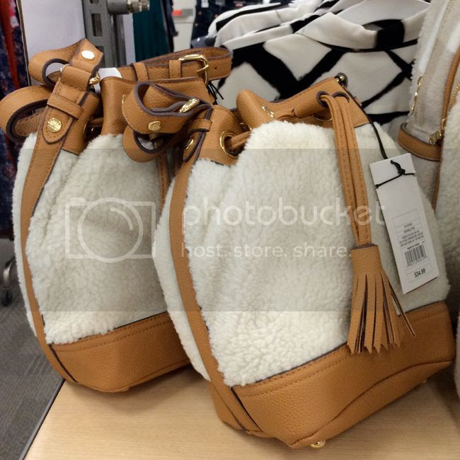Adam Lippes for Target Shearling BucketBag