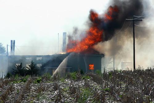 Columbus Nebraska House Fire
