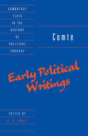 Early Political Writings
