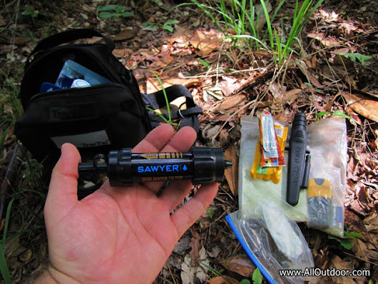 Sawyer Mini Water Filter First Impressions - AllOutdoor.com