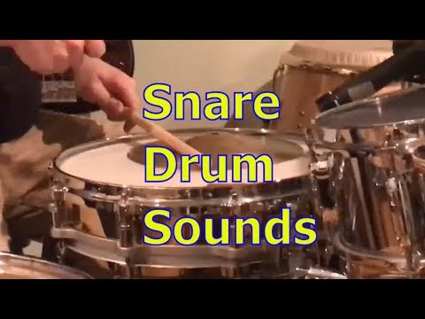Snare Drum Sounds [5 Tips]