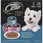 Cesar Gourmet Filets Multi-Pack Dog Food Trays