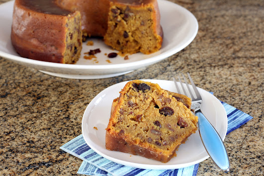 This Sweet Potato Cake is Filled With Plump, Bourbon-Soaked Raisins