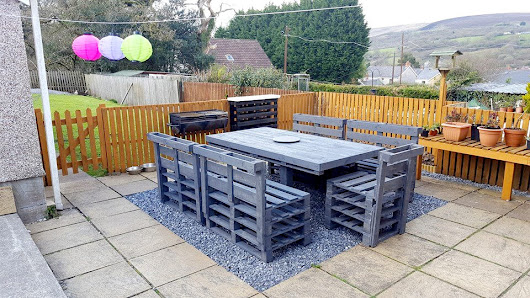 How to Organize a Patio with Pallets | 101 Pallet Ideas