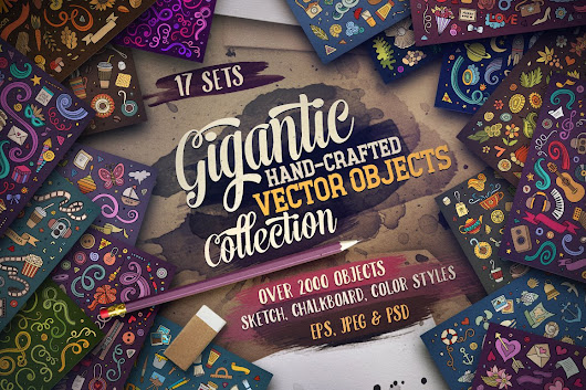 ⌛ 80% OFF Gigantic Objects Bundle