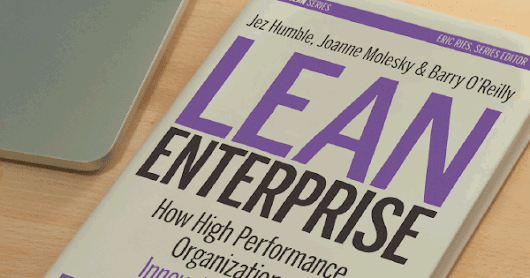 Lean Enterprise Book | ThoughtWorks