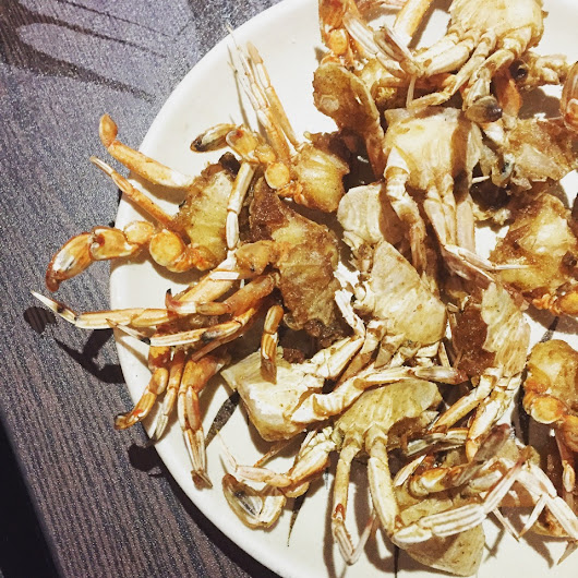 Denise Ong: Fried Crabs