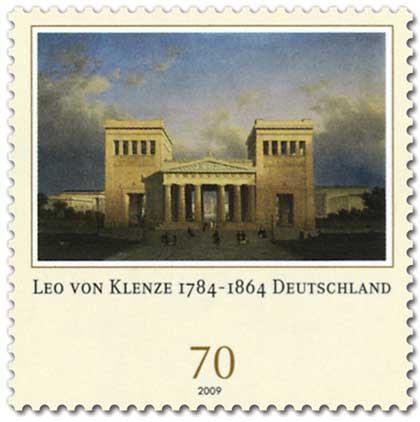 Datei:DPAG 2009 Leo von Klenze, Propylaeen in München.jpg
