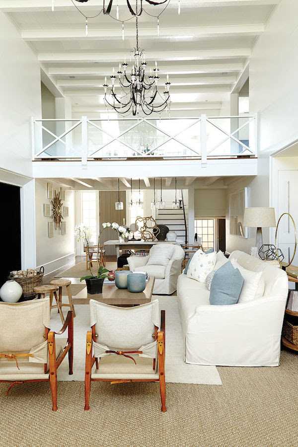 Southern Living Idea House 2014 Open Living Room