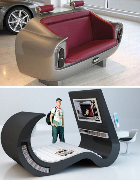 Unusually Clever Living Room Furniture, Unique Living Room Furniture