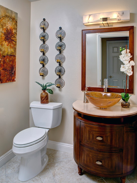 Elegant Bathroom Wall Décor Ideas