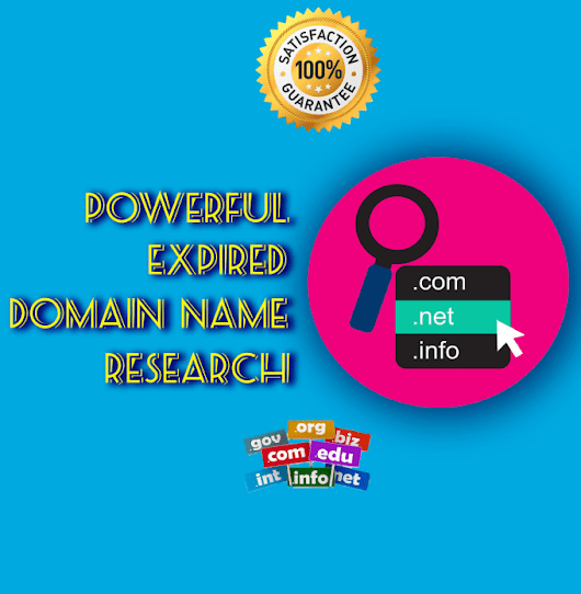 tohamark : I will do research 10 expired domain for $5 on www.fiverr.com