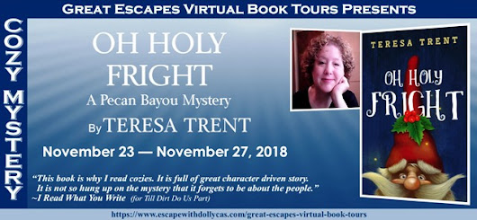 Oh Holy Fright by Teresa Trent - Spotlight and Giveaway - Brooke Blogs