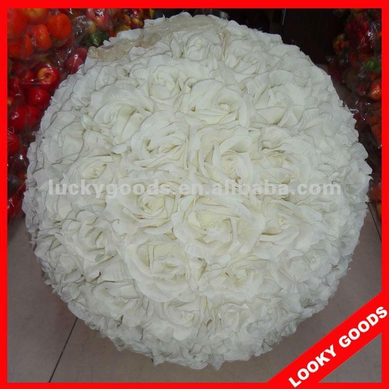 wedding flower balls