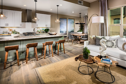 Shop the Look: Barstools at The District, Plan 2 - Pacific Dimensions