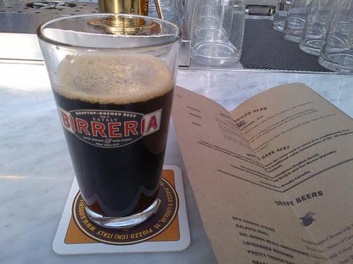 Barista Porter at Eataly Birreria