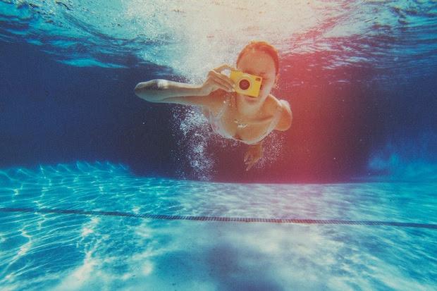 Máquina funciona também debaixo d'água (Foto: Divulgação)