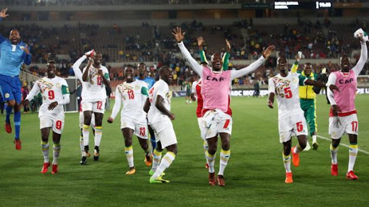 Senegal cap World Cup qualifying with a late win over SA