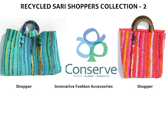 Recycled Saree Shoppers Collection - 2!!!!!!!