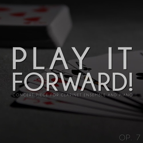 Play it forward! by Dylan B. Christopher