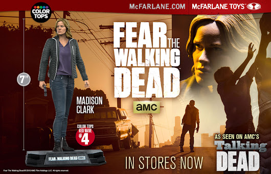 Win AMC's Fear The Walking Dead Madison Action Figure