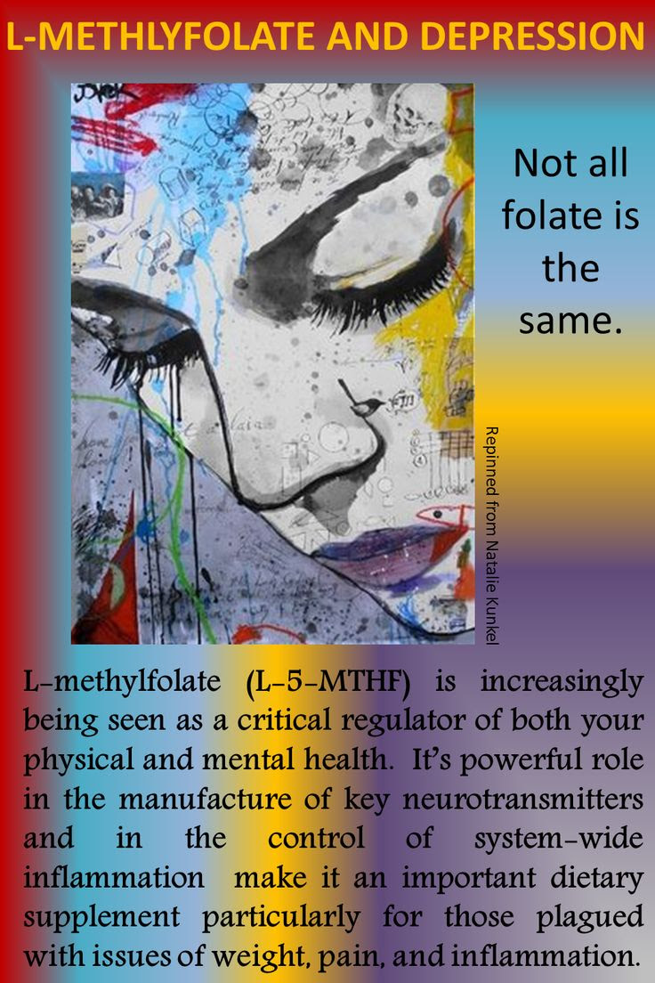 #L-methylfolate and #depression   Psychotherapy ...
