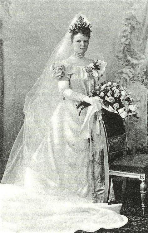 1877 Princess Marie of Waldeck Pyrmont as bride of King