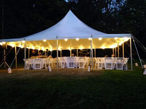 Outdoor Tent Wedding