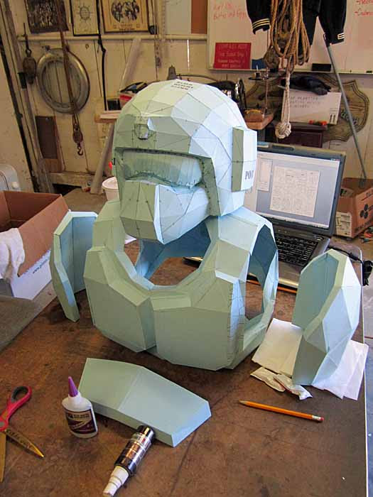 Imperial Guard Armor Pep  Built
