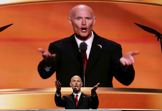 Judge slams Rick Scott's Florida for 'obscene' disenfranchisement