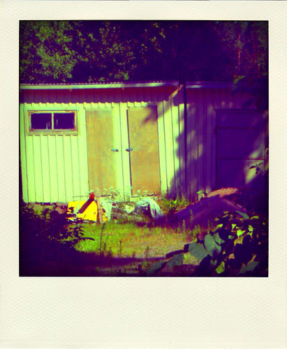 Outhouse in Flugeby, Vetlanda