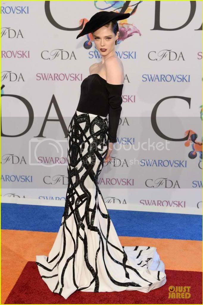 2014 CFDA Awards Red Carpet Fashion Styles Coco Rocha photo coco-rocha-cfda-awards-2014_zpse940e3ad.jpg