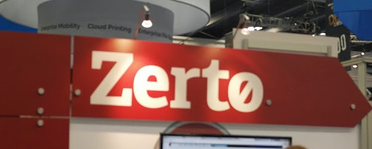 Zerto for Disaster Recovery