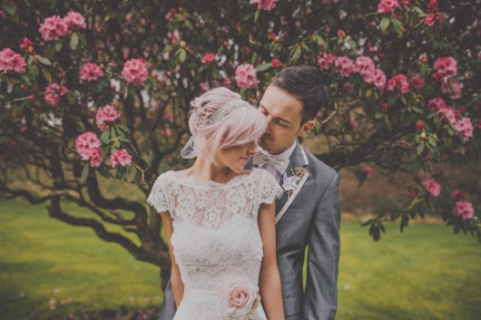 Pretty Pastel Homemade Wedding: Stacey & Rob