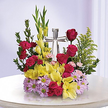 Easter Flower Arrangements For The Table