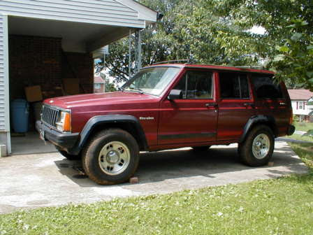 Jeep Cherokee Suspension Xj Budget Lift How To Lift Your Jeep Cherokee Xj 4 On A Budget