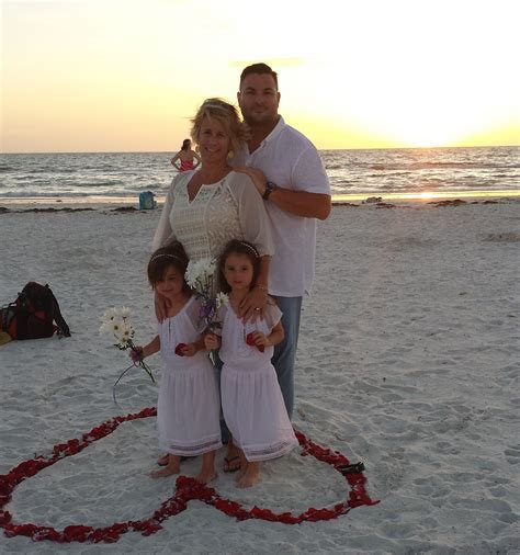 Vow Renewal Ceremony on Clearwater Beach