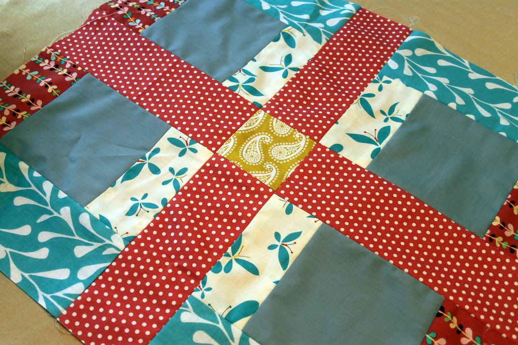 not sure? beginnings of a table runner or quilt...maybe?