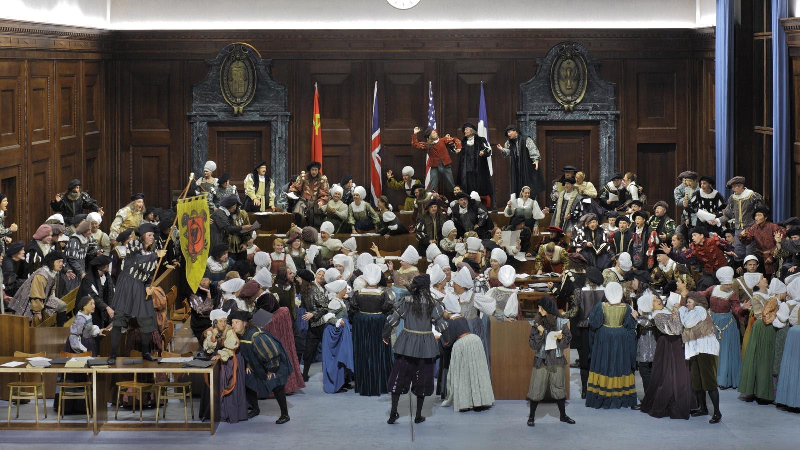 'Els mestres cantaires de Nuremberg' / Enrico Nawraht / Bayreuther Festspiele