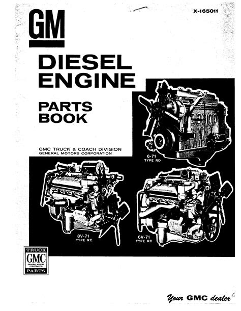 GM 6-71 RD Parts List for Diesel Engine | | Download Spare