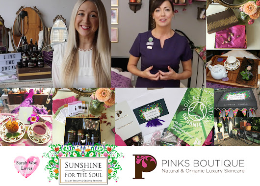 Epic discovery: Sunshine for the Soul Salon & Pinks Boutique Organic Skincare - Sarah Woo.