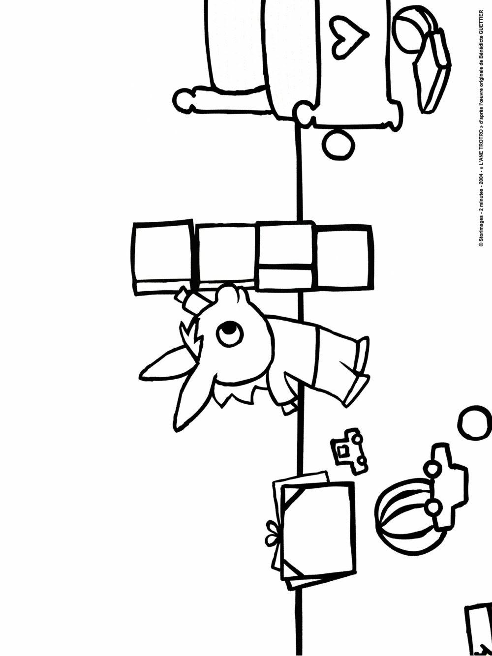 Jeux de coloriage de trotro imprimer et obtenir une - Jeux de trotro ...